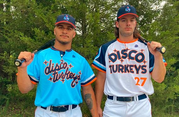 Disco Turkeys unveil groovy uniforms