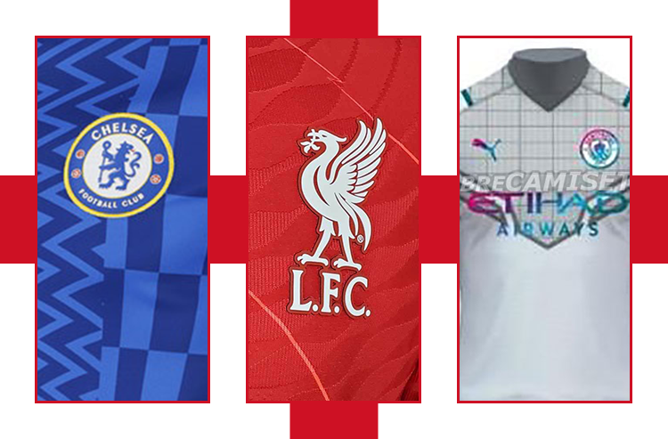 Leaked: New Liverpool, Chelsea, Man City Jerseys for 2021-22