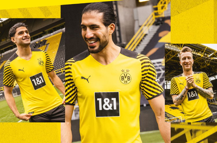 Borussia Dortmund Brings It All Together for 2021-22 Home Kit ...