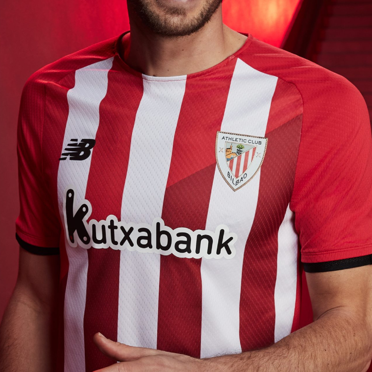 Athletic Bilbao Highlights Basque Country Bonds with 2021-22 Home Kit