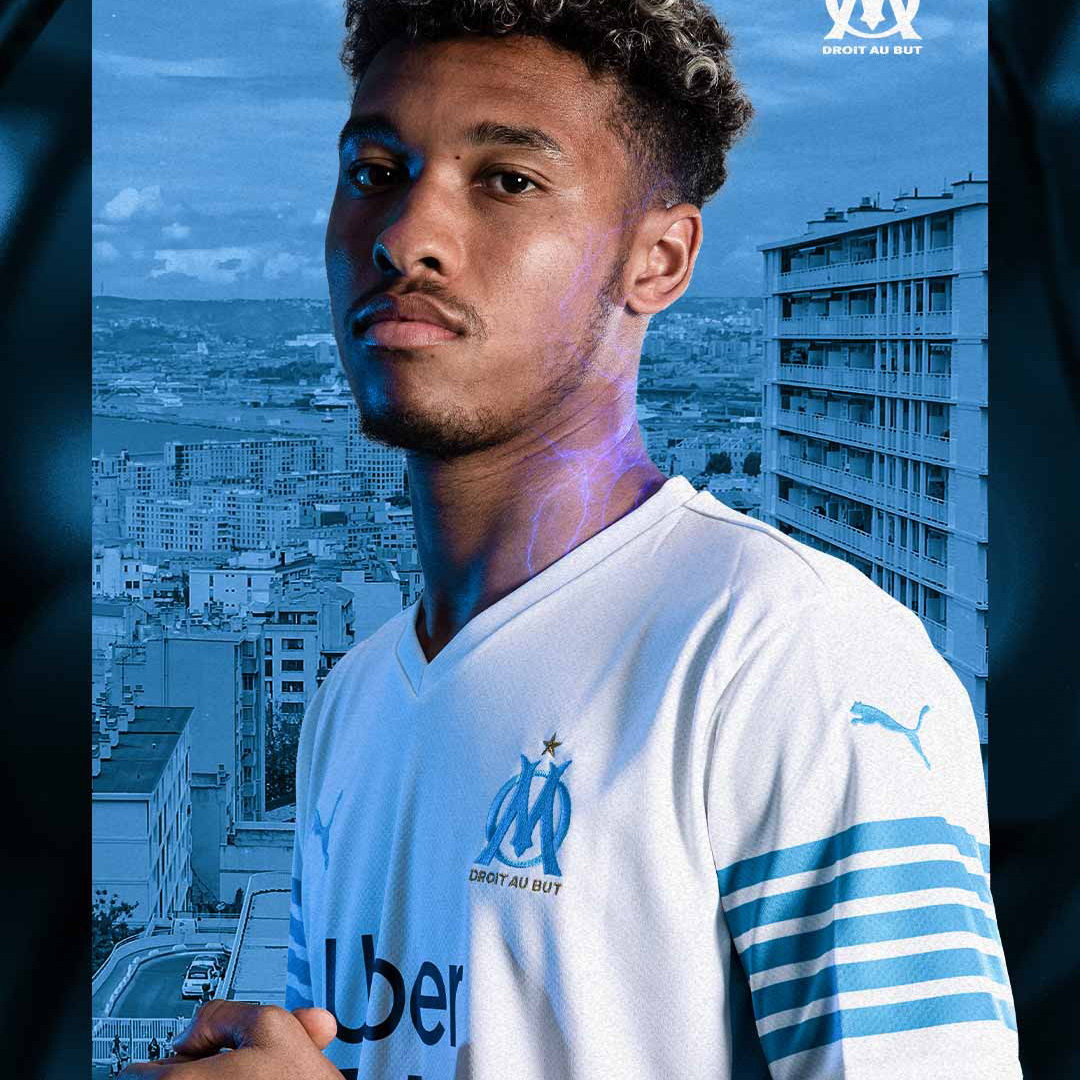 Olympique Marseille's 2021-22 Home Jersey Pays Homage to 1989-90 Squad