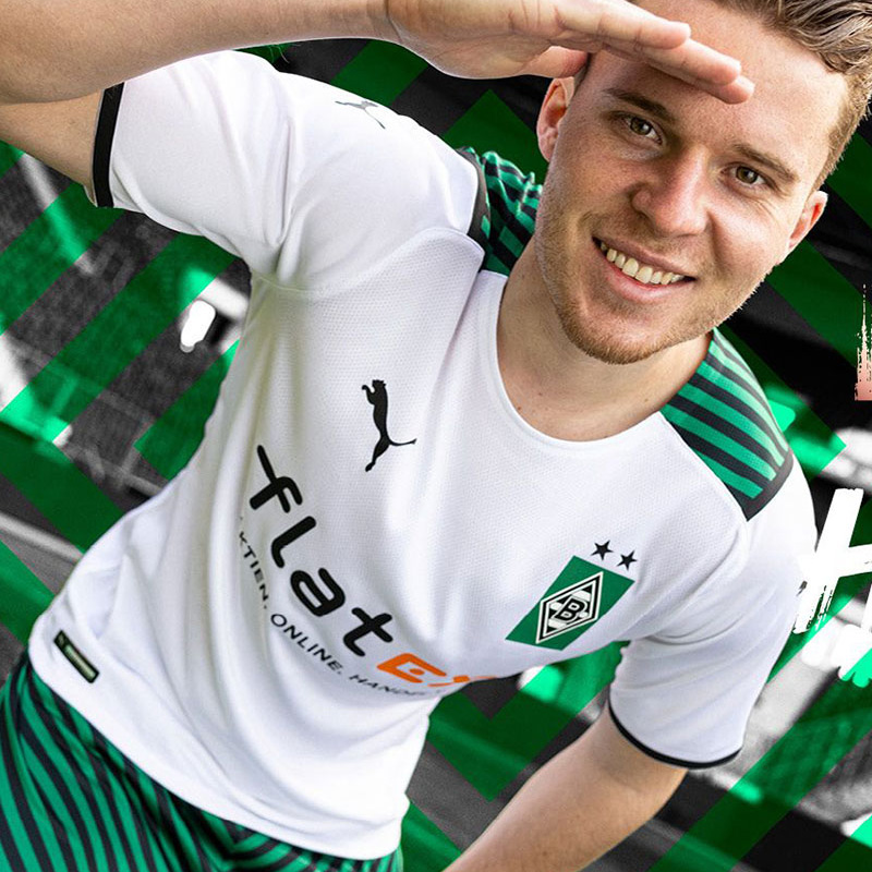 Borussia Monchengladbach Show Their Colours with New Home Jersey
