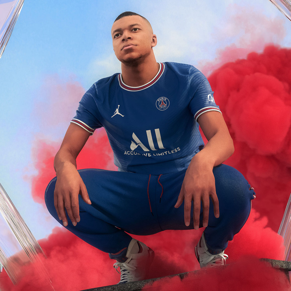 Air France: PSG Unveils Jordan Brand Home Kit for 2021-22