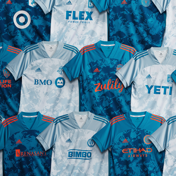 MLS Releases PRIMEBLUE Jerseys Made with Recycled Ocean Plastic for All 27 Teams