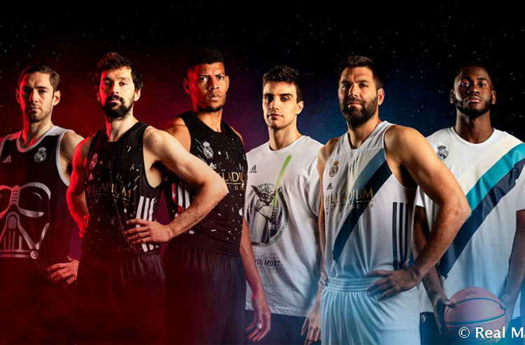 Real Madrid Joins 'Forces' with Star Wars for New Basketball Line