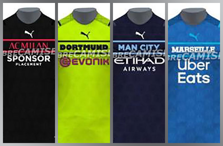 Leaks Show Unconventional Puma Jersey Template Carrying Over to European Club Teams