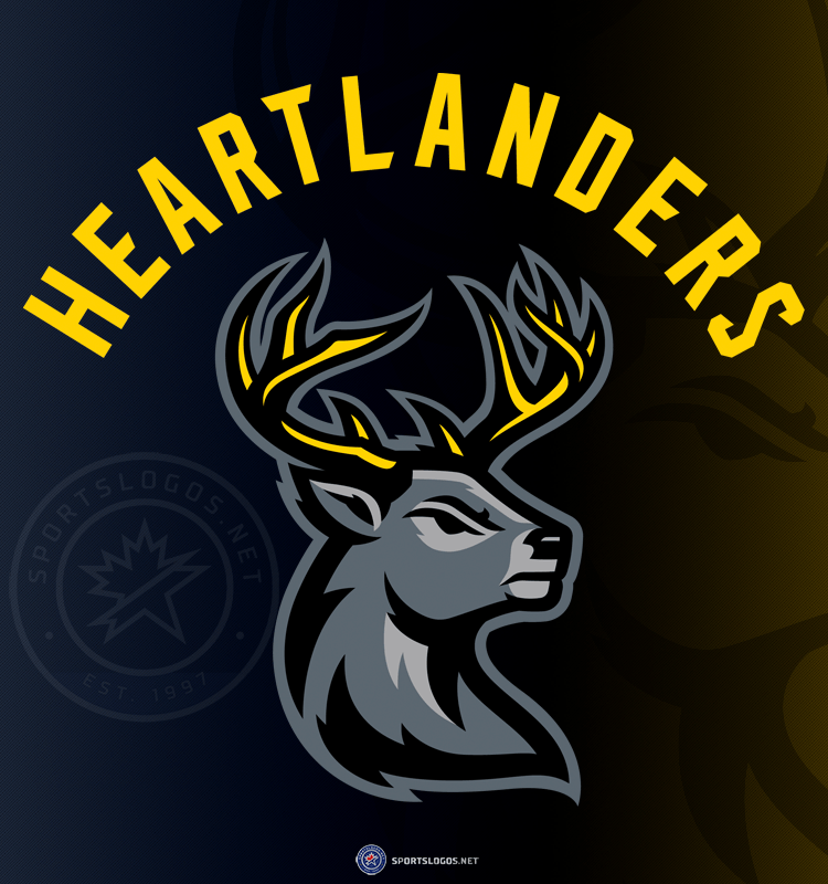 Bucking the Trend: ECHL's Iowa Heartlanders Introduce Name and Logos – SportsLogos.Net News