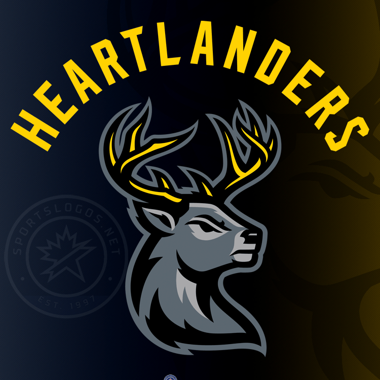 Bucking the Trend: ECHL's Iowa Heartlanders Introduce Name and Logos