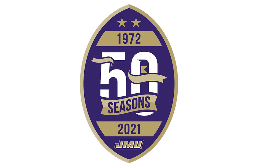 James Madison Dukes To Celebrate 50th Football Season With Commemorative Logo