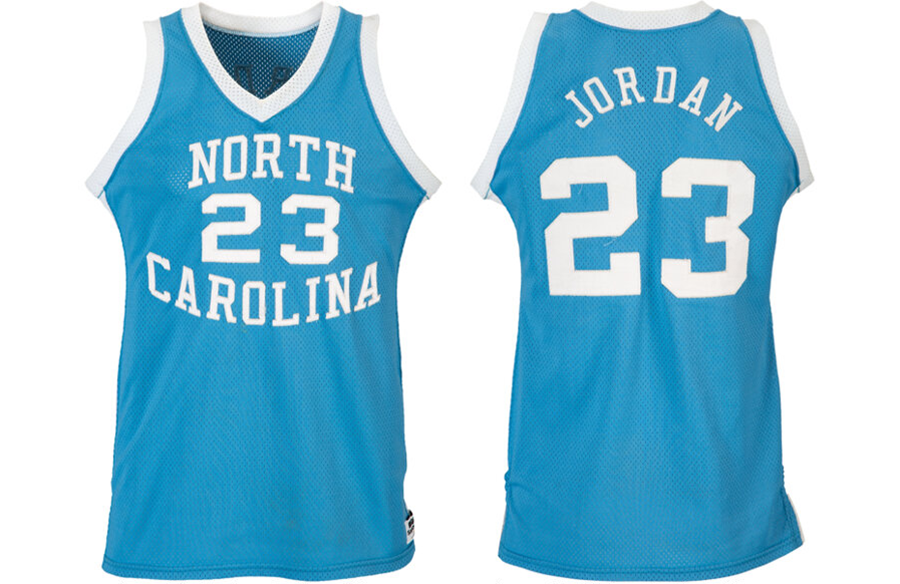 Michael Jordan's Game-Worn North Carolina Jersey Sold For $1.38 Million