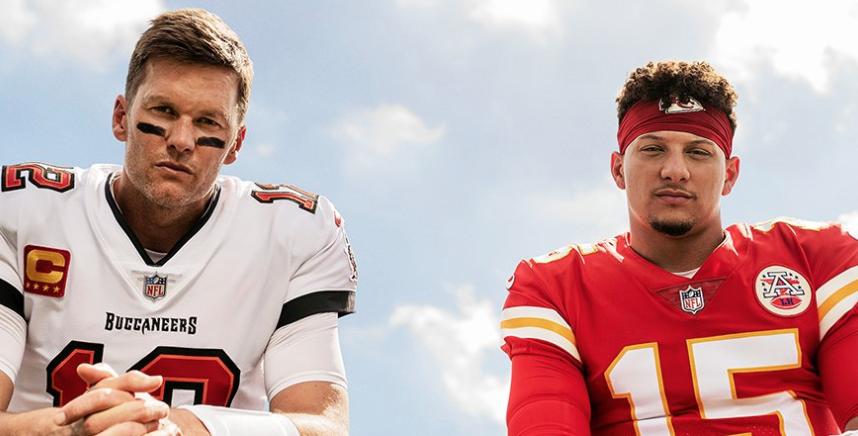 Tom Brady, Patrick Mahomes Share Madden NFL 22 Cover