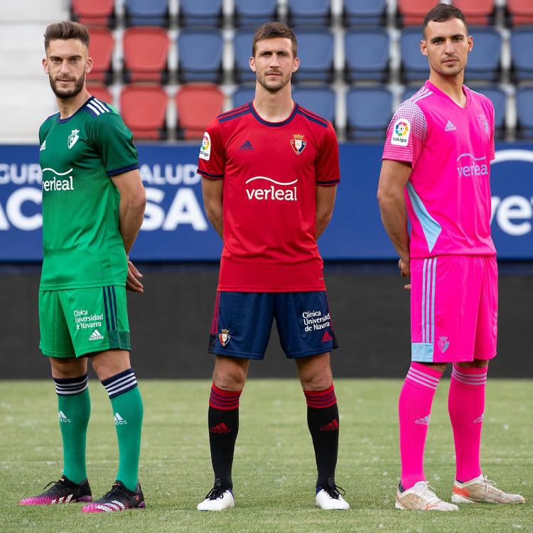CA Osasuna Release Trio of Kits for 2021-22 La Liga Season