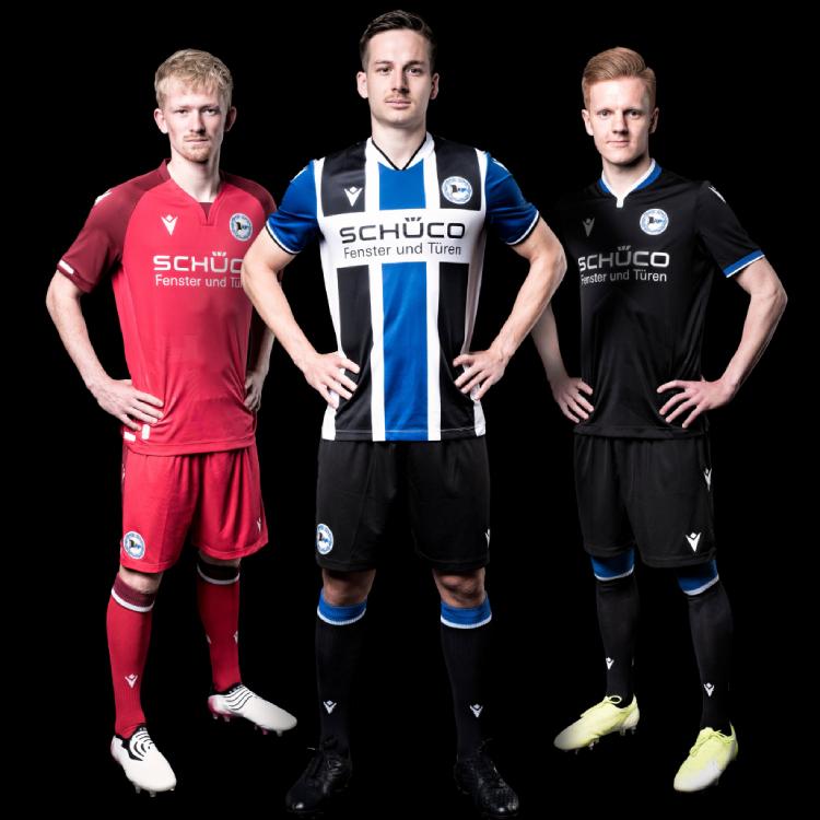 City Inspires Arminia Bielefeld's 2021-22 Bundesliga Kits