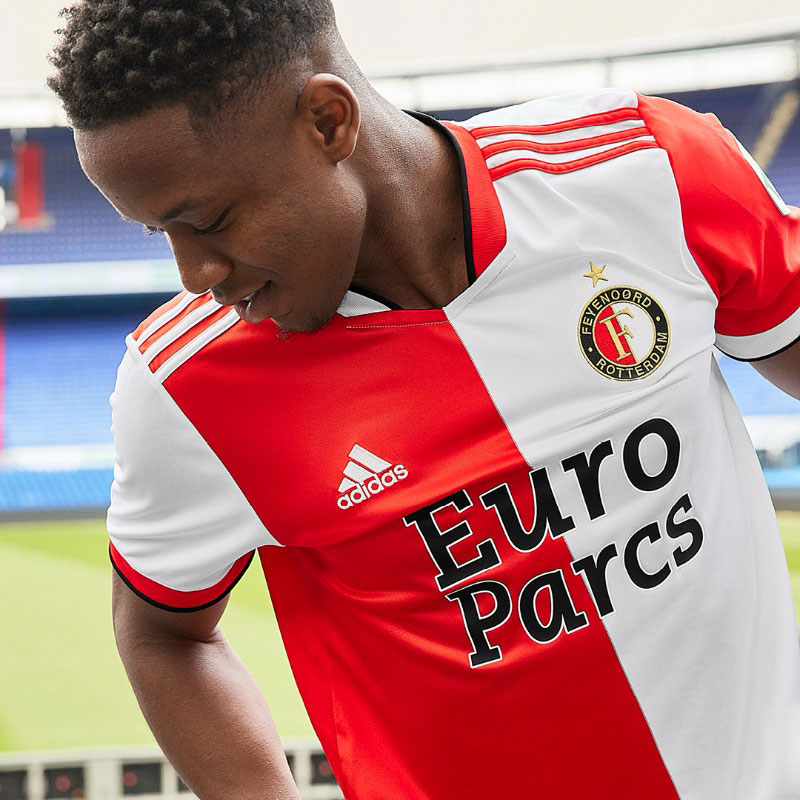 Feyenoord Stick with Tradition for 2021-22 Home Kits