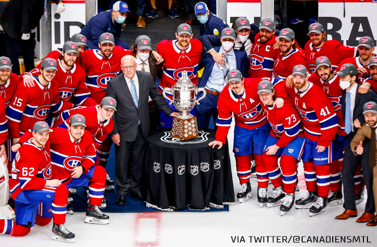 Why Did the Canadiens Win the Campbell Bowl in 2021?