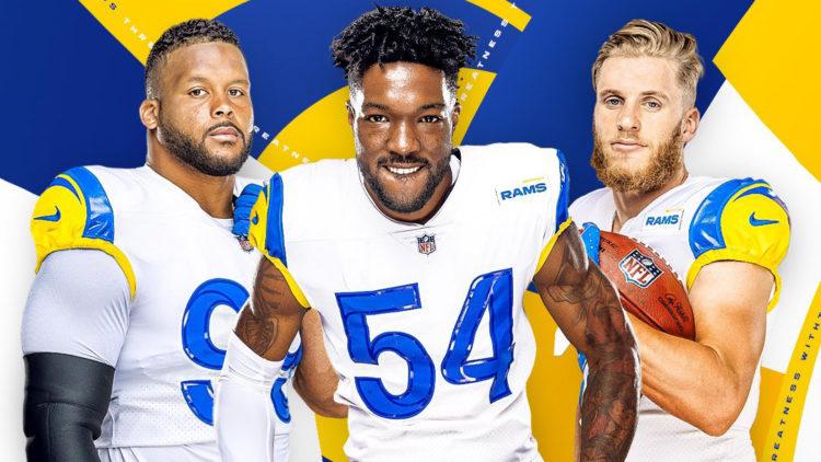 Los Angeles Rams Unveil White Modern Throwback Uniforms ...