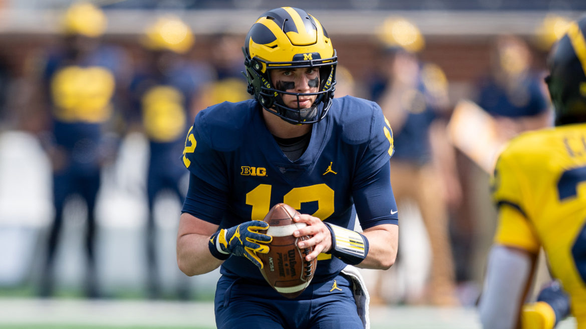 Michigan's Retail Store Selling Jerseys With Names, Numbers Of Current Players