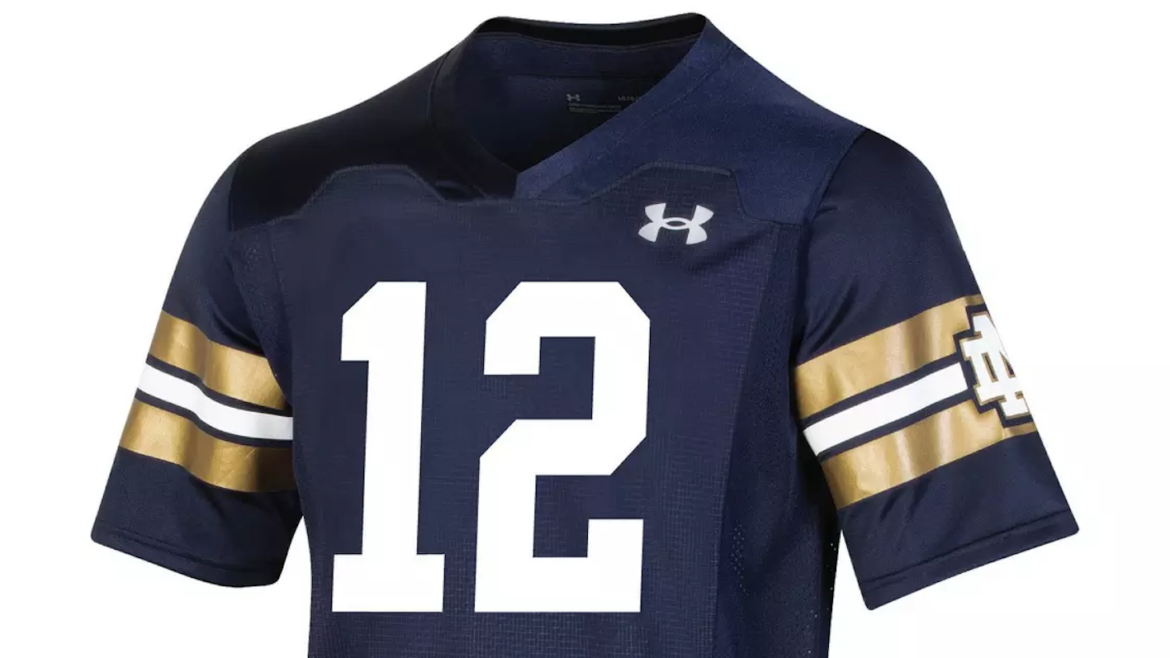 Notre Dame's Jersey For Shamrock Series Game Against Wisconsin Leaks