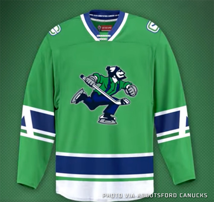 Johnny Canuck Returns as Logo for New AHL Team in Abbotsford