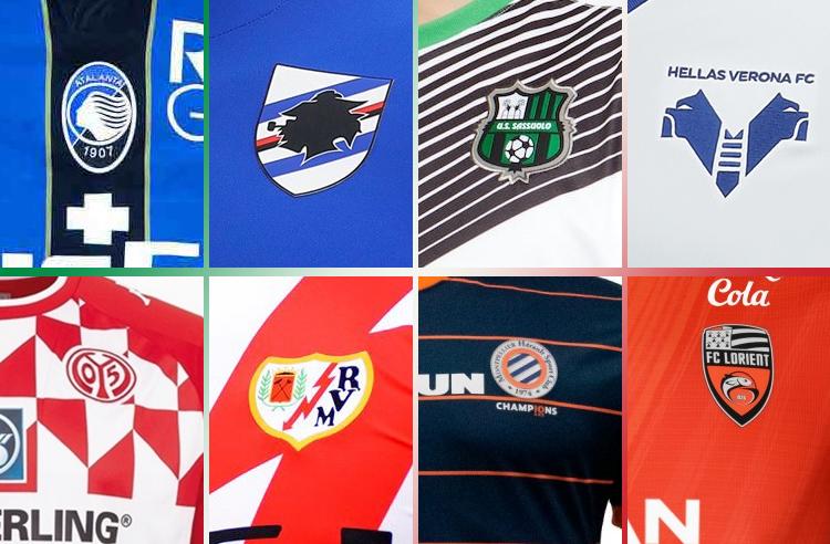 Quartet of Italian Clubs Headline Recent European Kit Unveilings