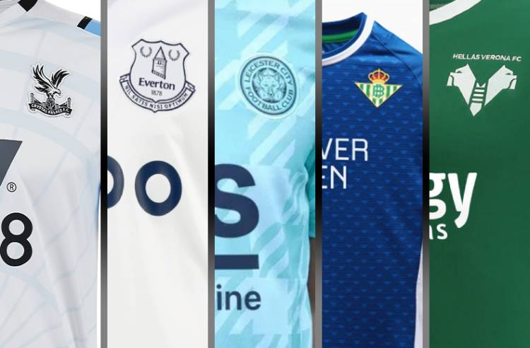 European Soccer Clubs Get Inspired by History for Recent 21-22 Away and Third Kits