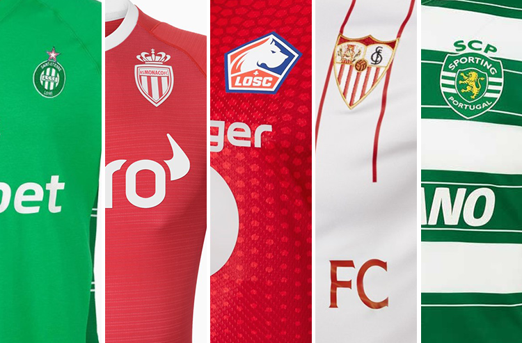 Trio of French Teams Headline Recent Football Kit Unveilings