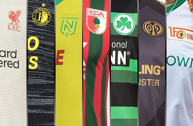 Liverpool Away Kit Headlines Slew of 2021-22 European Club Soccer Jerseys