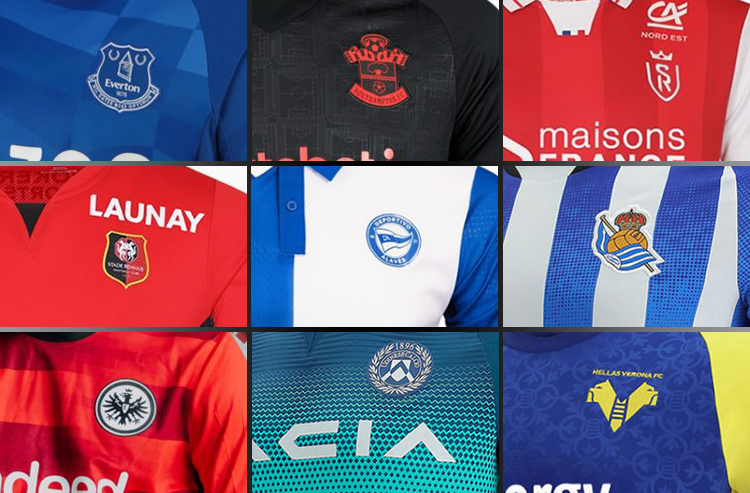 Even More European Club Soccer Kits Unveiled Ahead of 2021-22 Season