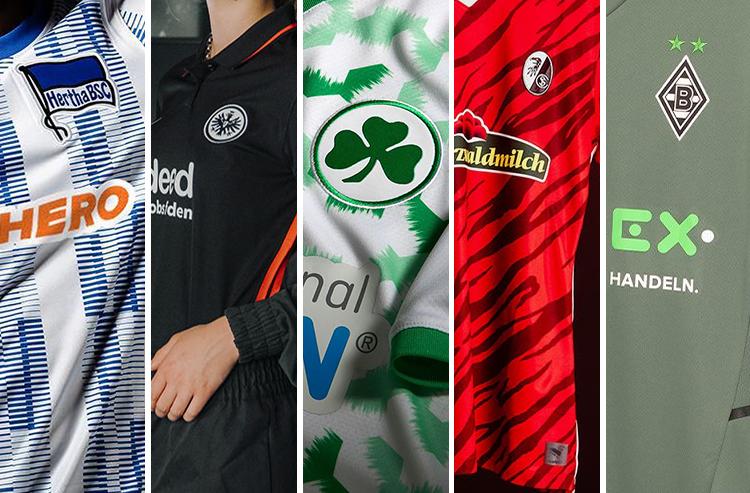 Five Bundesliga Teams Unveil New Kits for 2021-22 Season