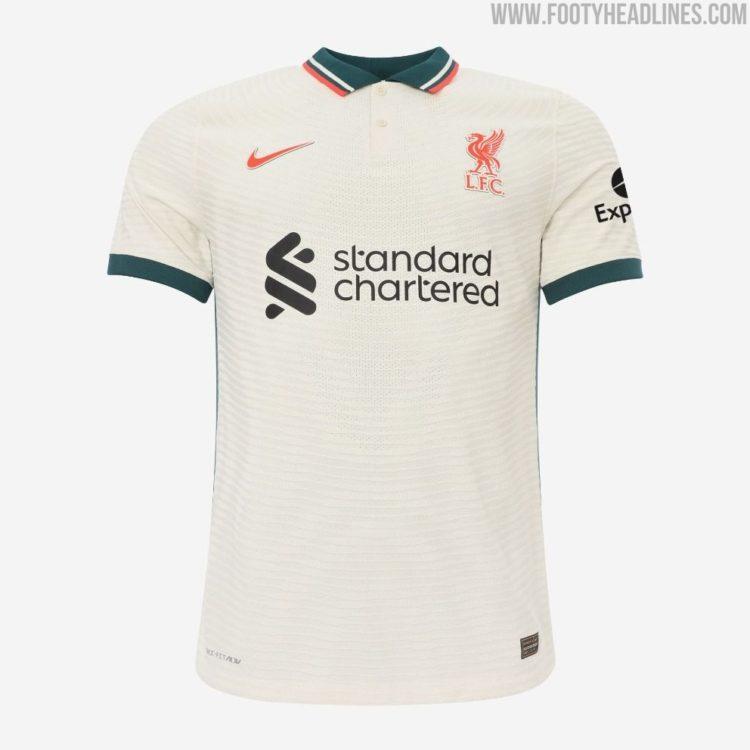 Liverpool Away Kit Headlines Slew of 2021-22 European Club Soccer ...