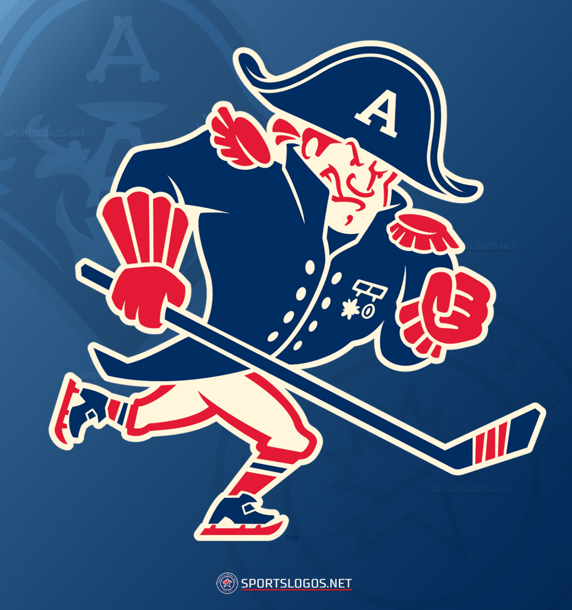 Milwaukee Admirals Faux It Back to the 1960s for New Logo