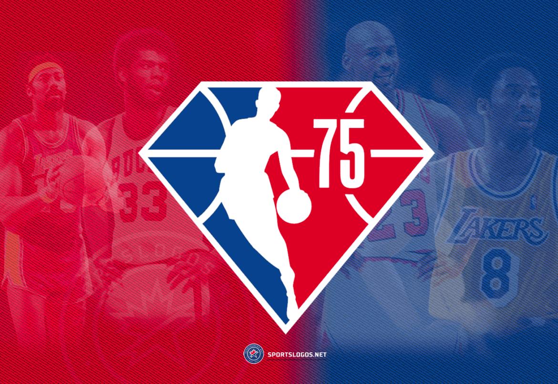 NBA Releases 75th Anniversary Logo for 2021-22 Season