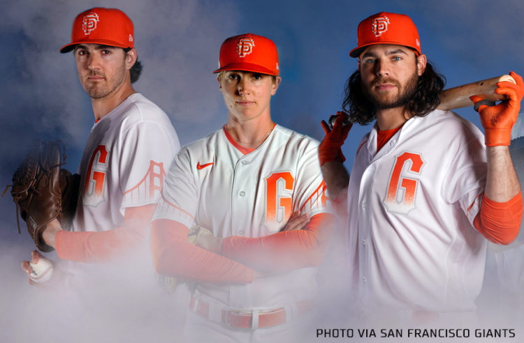 San Francisco Giants Release New City Connect Uniforms, Towering Above the  Fog – SportsLogos.Net News