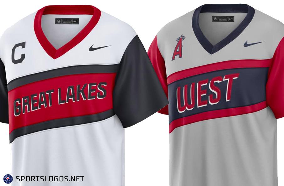 Cleveland, Angels Reveal 2021 Little League Classic Uniforms: Great Lakes vs West