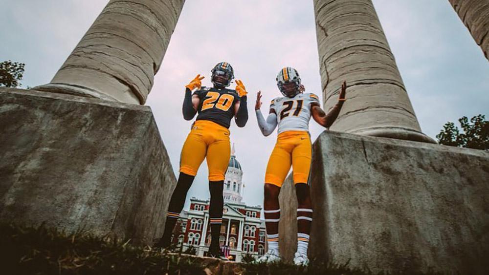 Missouri Tigers Unveil New Football Uniforms