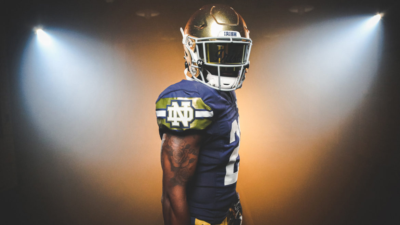 Notre Dame Unveils Shamrock Series Uniform For Game Against Wisconsin