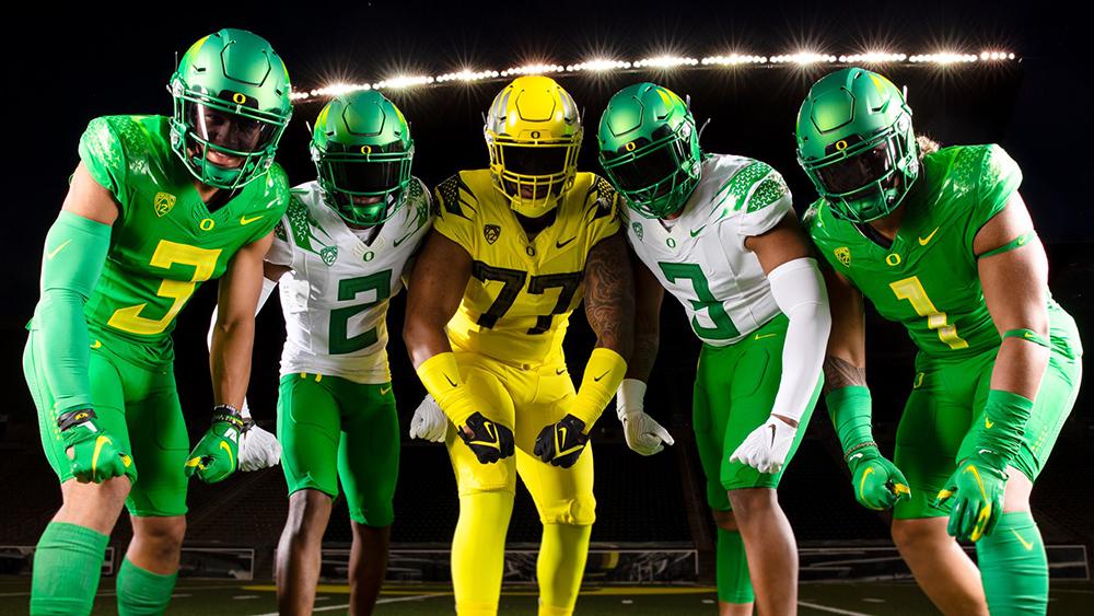 Oregon Ducks Unveil New Nike Football Uniforms