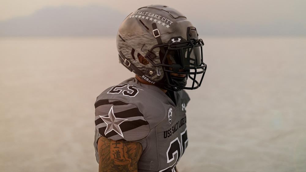 Utah Utes Unveil USS Salt Lake City-Inspired Alternate Uniforms