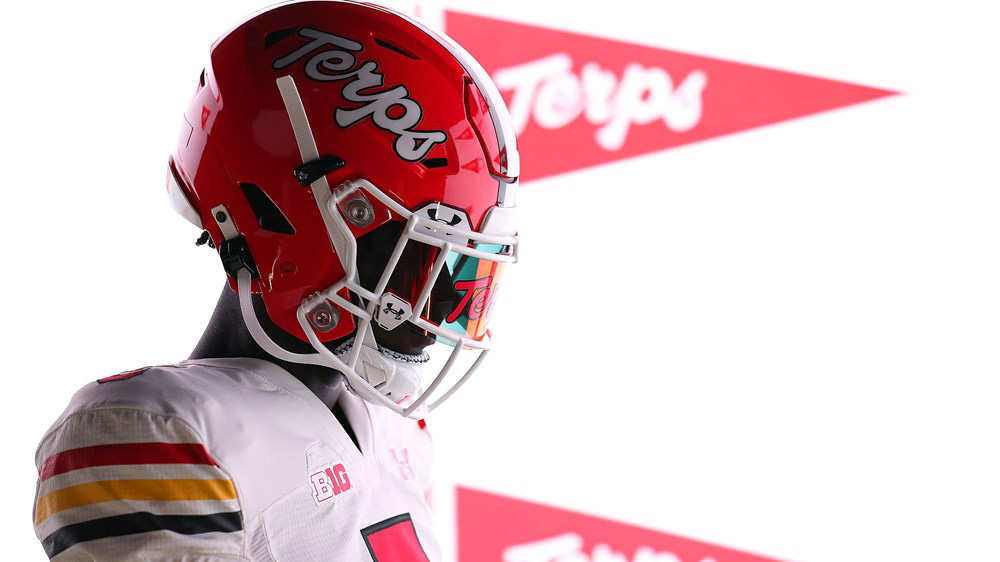 Maryland Terrapins Unveil Road Version Of 1980s Throwback Uniform