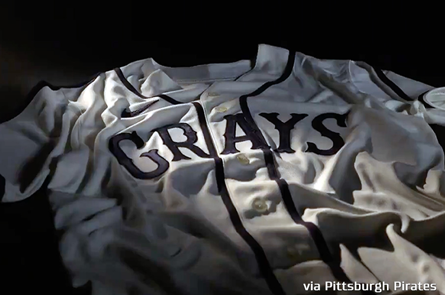 Pirates to Honour Homestead Grays With Throwback Uniforms Friday