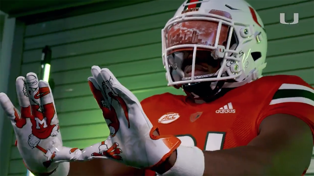 Miami Hurricanes Reveal Updated Football Uniforms