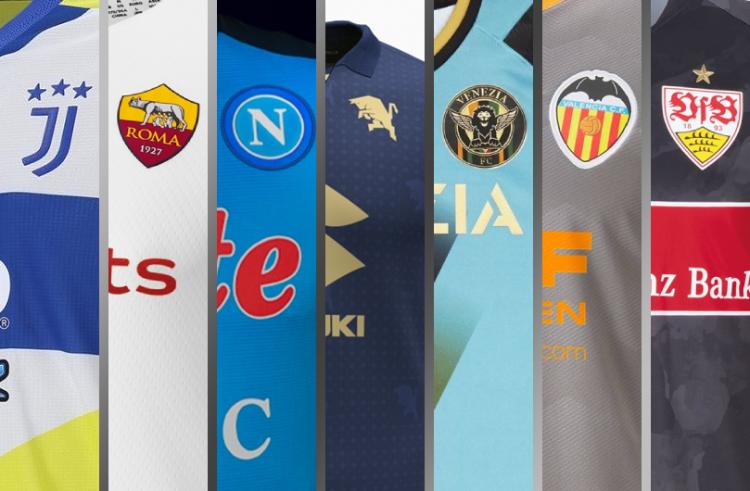 Juventus's '90s-Inspired Third Kit Highlights Recent European Football Kit Unveilings