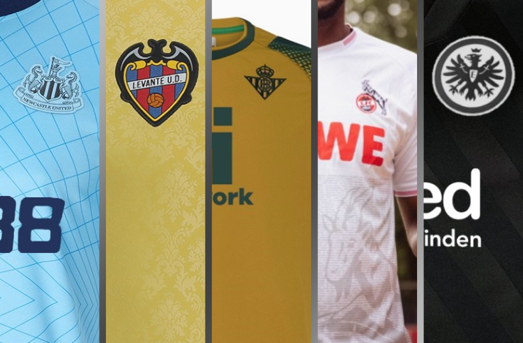 Newcastle Adds Some Color with Third Kit, Plus Other Recent European Soccer Unveilings