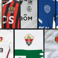 Five French Clubs Highlight Recent European Football Kit Unveilings