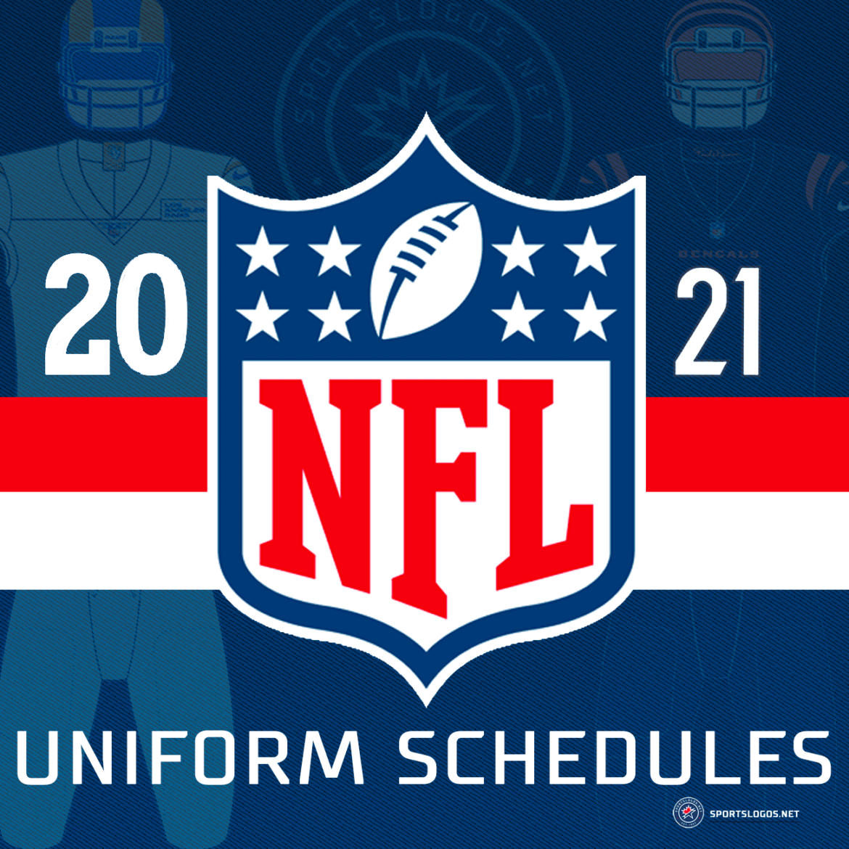 2021 NFL Team Uniform Schedules