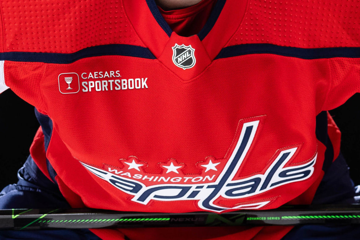 Washington Capitals First to Announce On-Ice Jersey Ad Deal for 2022-23