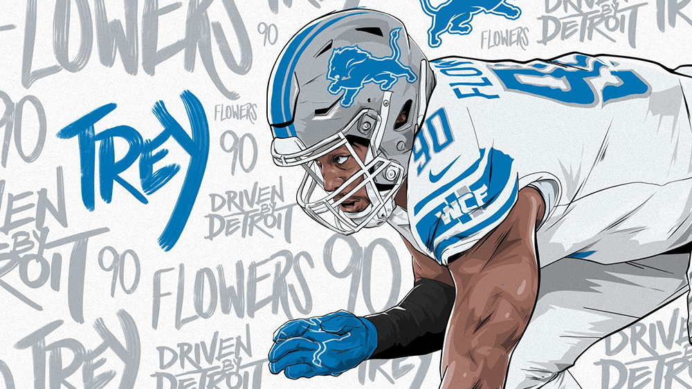 Detroit Lions To Wear White Pants, Facemasks Against Green Bay Packers On Monday Night Football