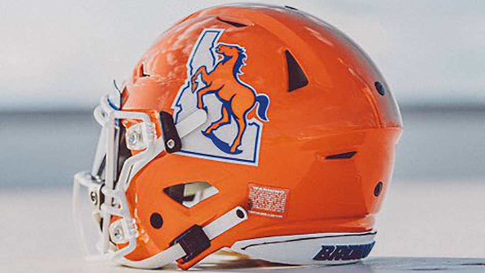 Boise State Broncos To Wear Vintage Logo On Helmet For Homecoming Game Against Nevada Wolf Pack