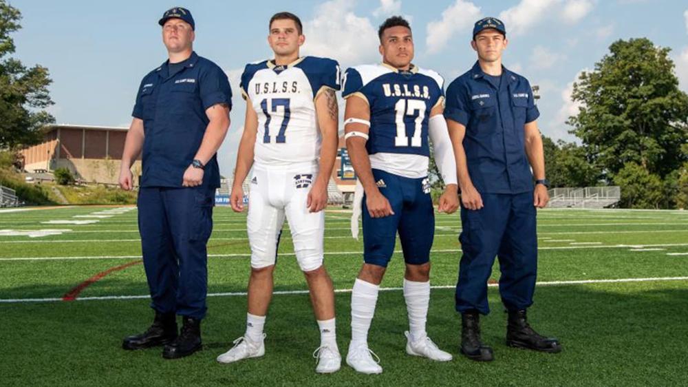 Coast Guard Academy Unveils Station 17 Alternate Football Uniforms