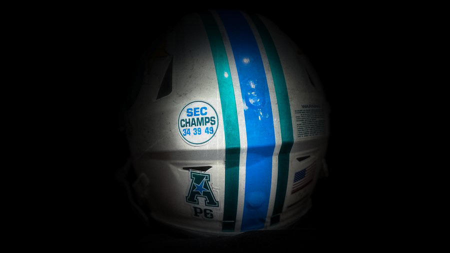 Tulane Adds SEC Champs Decal To Helmets Ahead Of Saturday's Game At Ole Miss